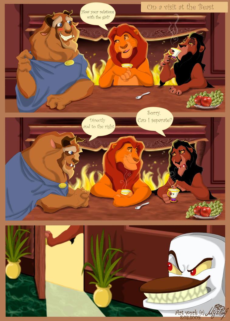 Lion king fan art comic book