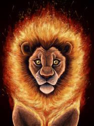 Lion by Myza-Lioness