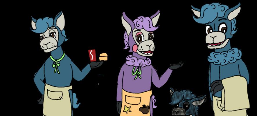 FNaF Oc- Triple Alpaca by hammyhammy22 on DeviantArt