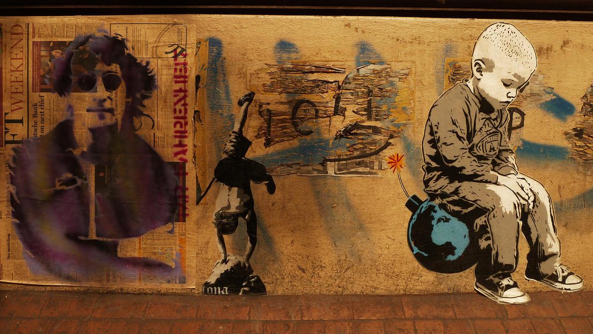 Street Art  in Berlin 9 by WillemFred