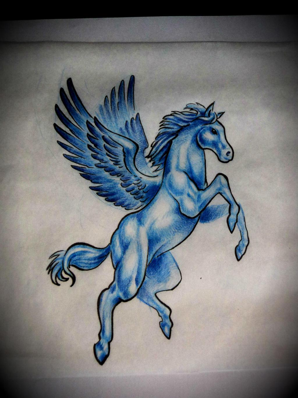 Pegasus Tattoo: Pegasus By ArturNakolet On DeviantArt