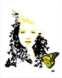 Yellow Flower by aynath
