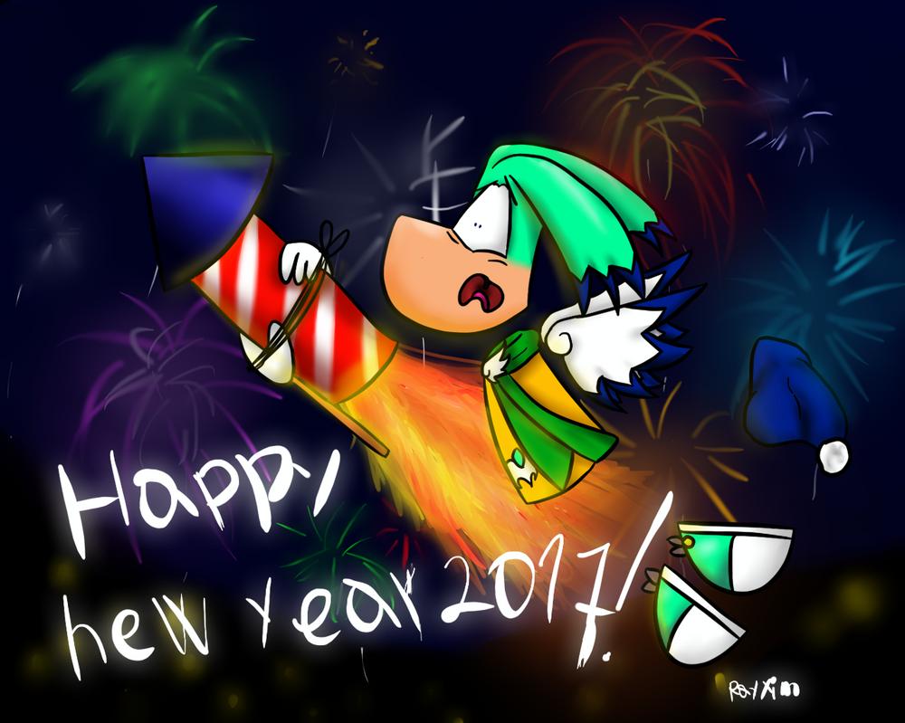 Happy new year 2017! by Rayxim