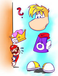 Rayman! Don't do this!