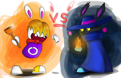 Raybbid VS Mrabbid. Dark