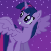 Alicorn Twilight free icon by Bahnahnahnah