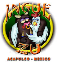 INGUE ZU Logo by VAXION