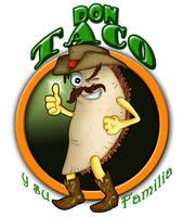 DON TACO Logo by VAXION