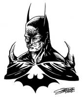 BATMAN sketch by VAXION