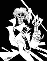 GAMBIT Lineart by VAXION