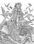 BA: The Crow sketch