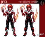 JEKI new costume design