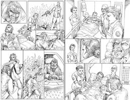 Commish: ZOMBIE DEMOCRACY last pages by VAXION