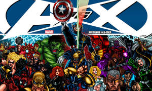 AVENGERS vs X-MEN by VAXION