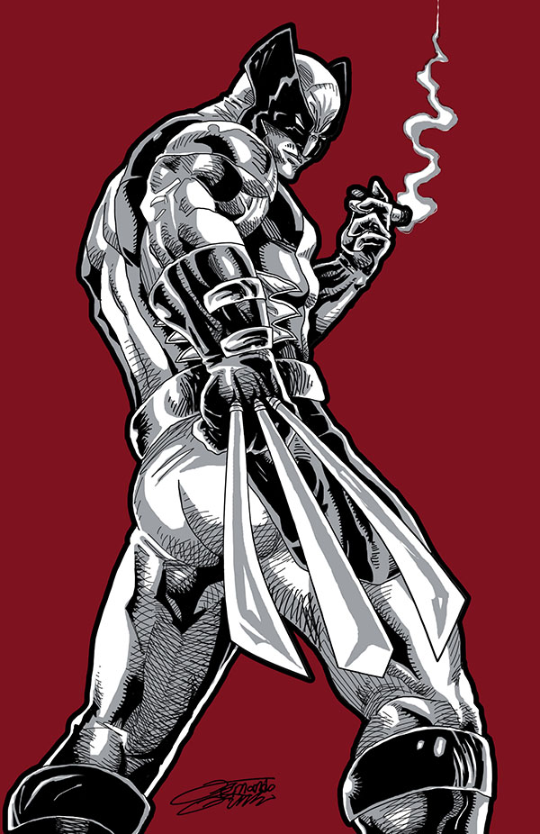 WOLVERINE Red by VAXION