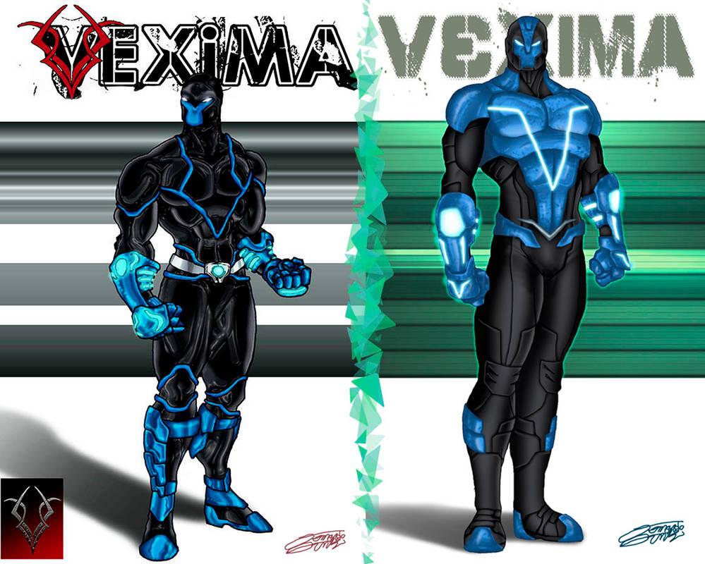 VORTEX OC Redesign by VAXION