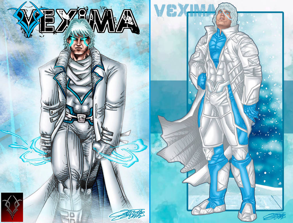 FROST OC Redesign by VAXION