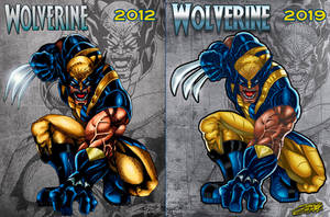 WOLVERINE Revamped COMMISH by VAXION