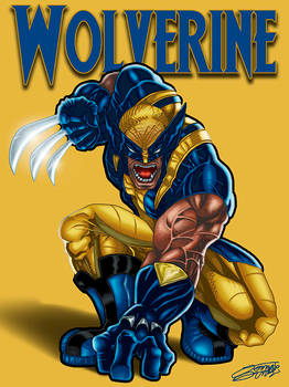 WOLVERINE ReDesign Yellow by VAXION