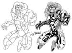 SABRETOOTH Inks Process by VAXION