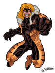 SABRETOOTH full color 90's version by VAXION