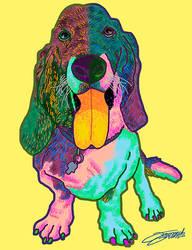 Psychedelic Dog