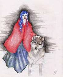 The Red Riding Hood ( HidaKona version)