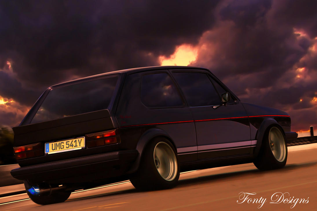 Volkswagen Golf GTI MK1 by Fonty-Designs
