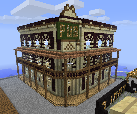 Medieval Inn (Now With Interiors) Minecraft Project