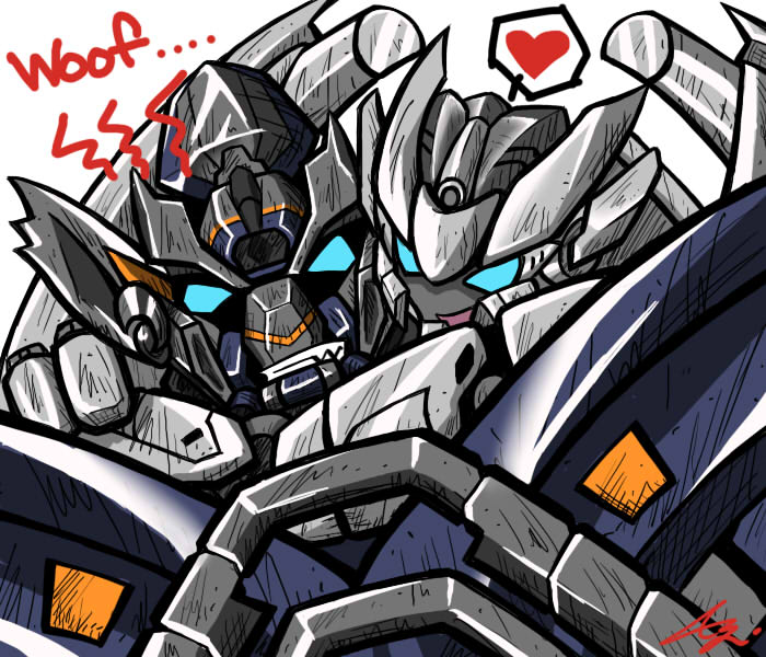 Ironhide And Sideswipe By Colza666 On DeviantArt