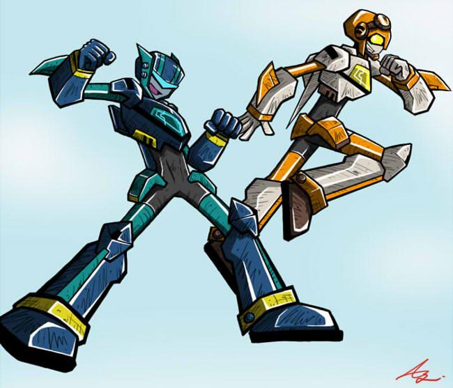 Jet Twins by Colza666