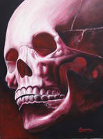 Red Skull by 9tattoo