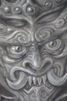 demon detail by 9tattoo