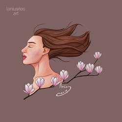 Magnolias by LaniusRios