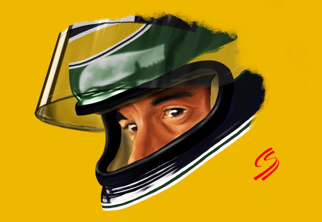Senna - Digital Painting