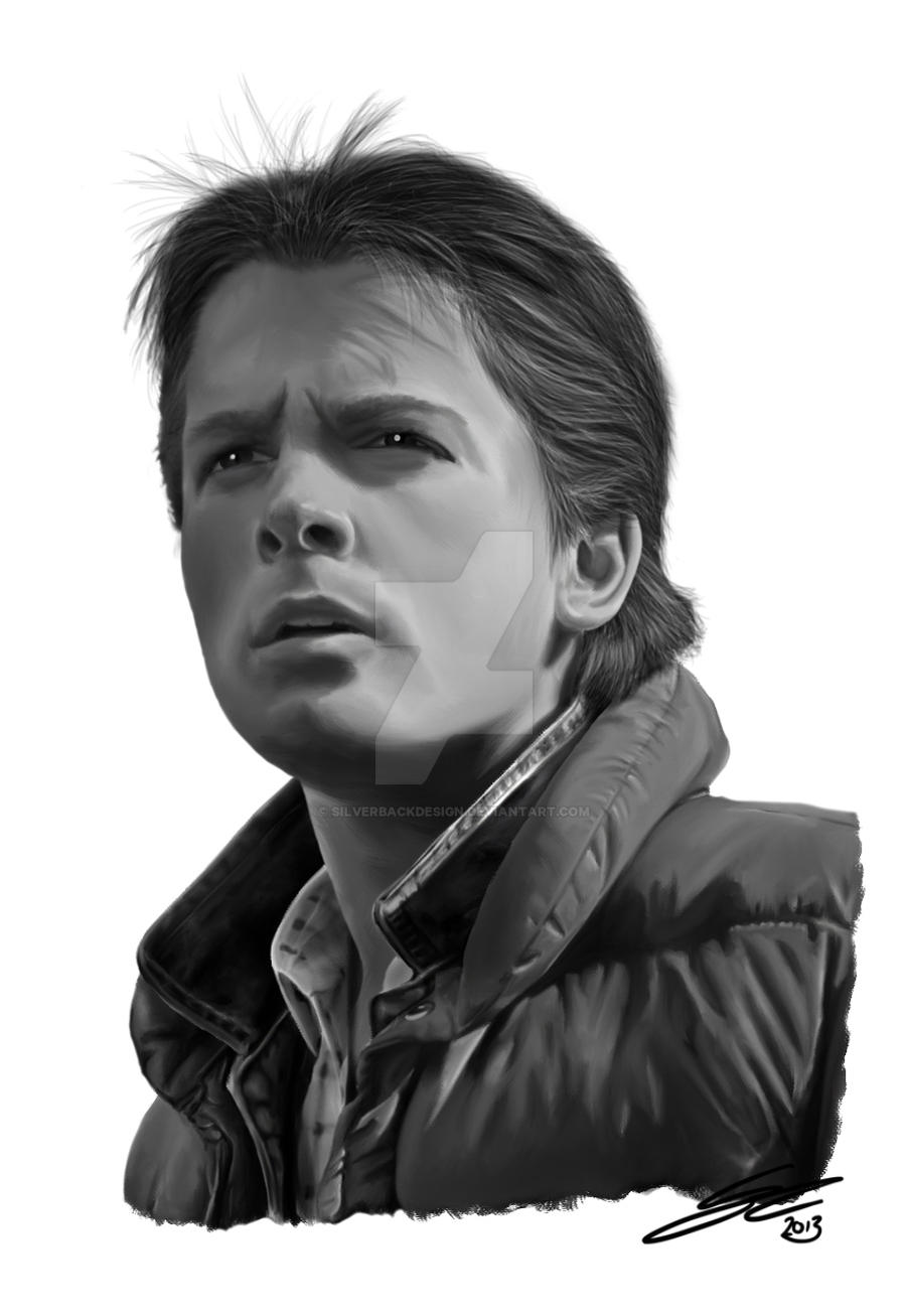 Marty McFly - Digital Painting