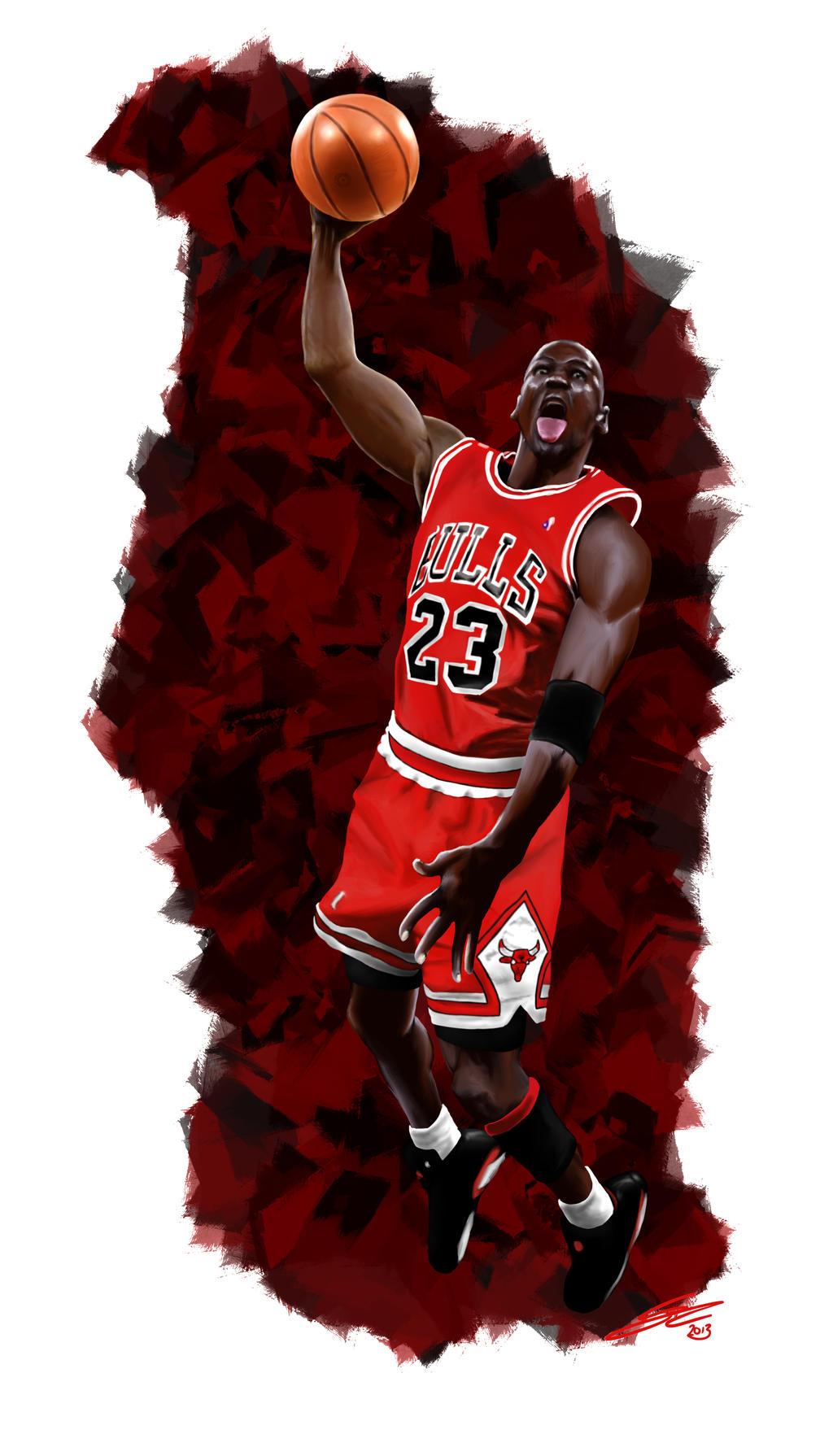 Michael Jordan - Digital Painting