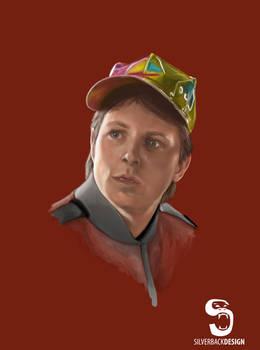 Marty McFly - Digital Portrait