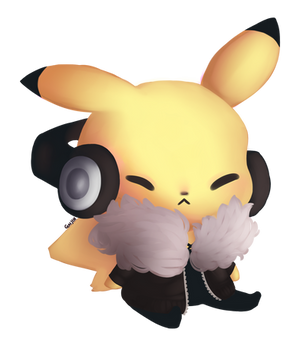 Hipster Pikachu