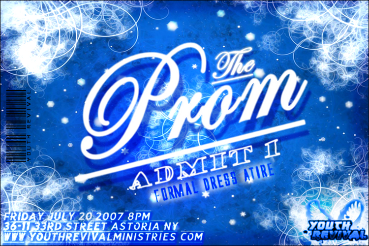 The Prom Ticket By Evshark ...  Prom Tickets Design