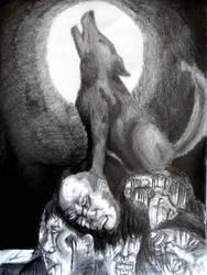 Howling Wolf by DarkShadow2000