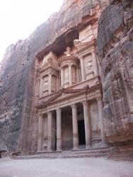 Jordan: Petra, The Treasury by alboreto