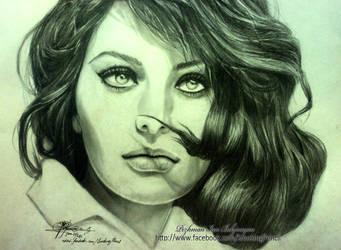 Sophia Loren by XagroS
