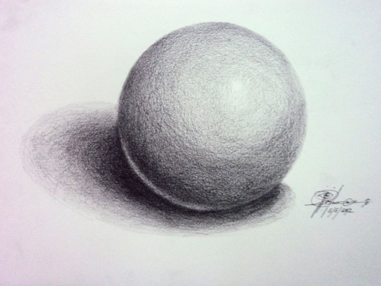 Light and Shadow on a Sphere