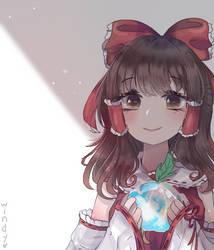 Reimu by WindyMils