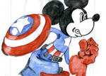 Captain America Mickey Mouse