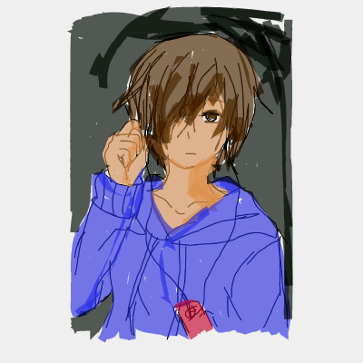 Anime Boy Listening To Music By Jbr524136