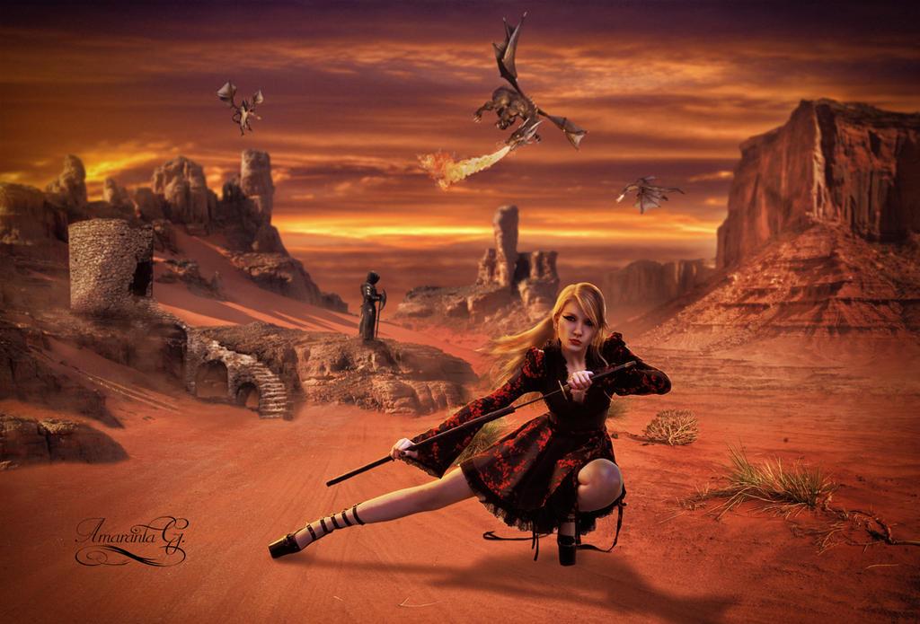 Land of dragons by Amaranta-G