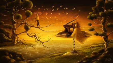 The piano by Amaranta-G