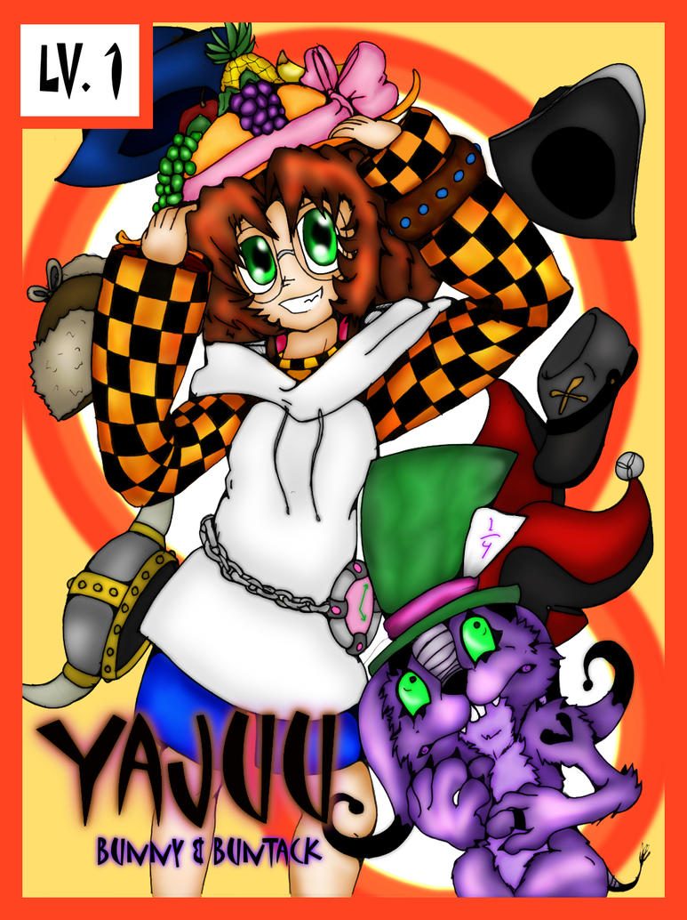Yajuu: LV 1 Bunny and BunTack by Bunnygirle26